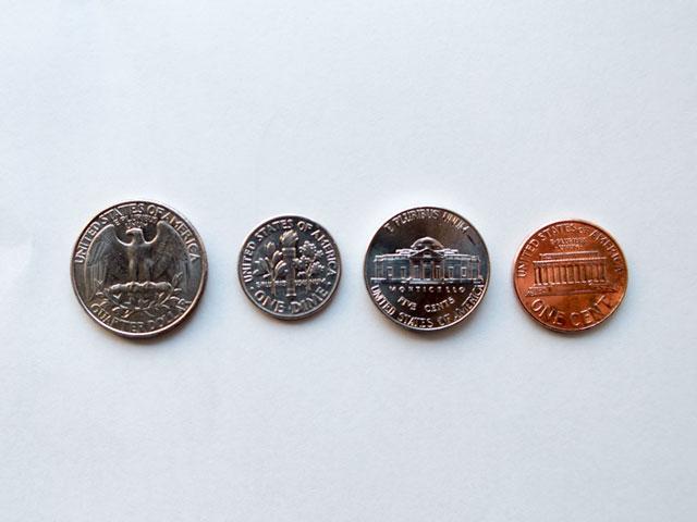 何度でもできる!ハワイで使うアメリカの硬貨を数えるための練習問題