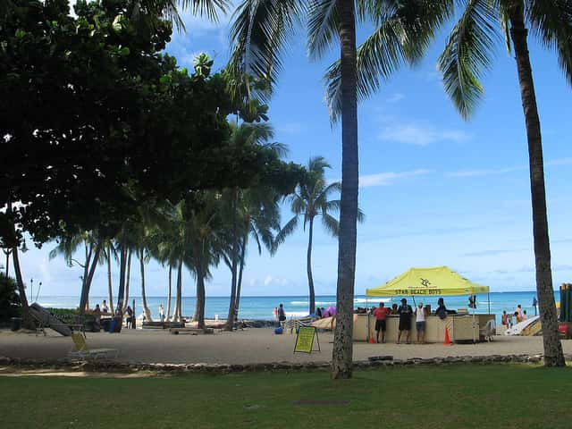 ハワイ旅行でオアフ島のワイキキに宿泊すると得られる3つのメリット