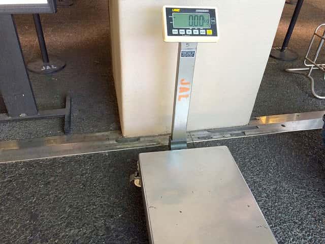 帰りのホノルル空港で荷物の重量オーバーを防ぐ方法