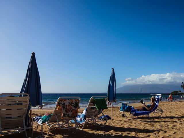 今ハワイのビーチにいる人の水着を簡単に調べる方法