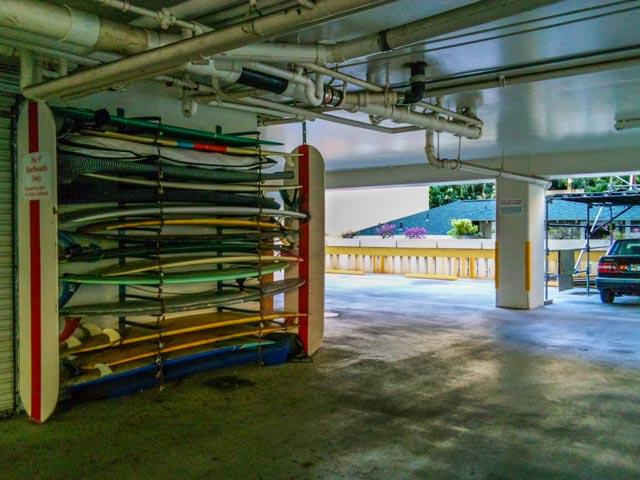 カヌーズに近いホテルのサーフボードの持ち込みやすさ