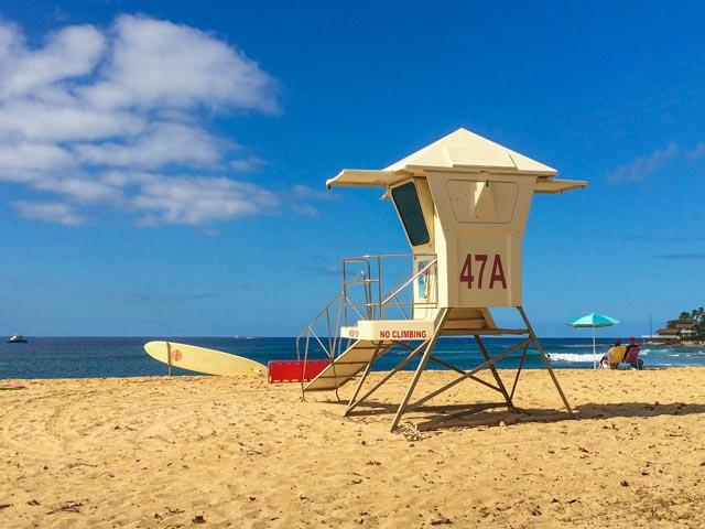 ハワイでサーフィンデビューの人が知っておきたい3つのコツ