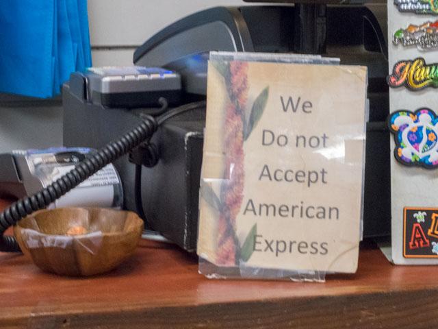 ハワイでAmexのクレジットカードを初利用の人が気をつけること