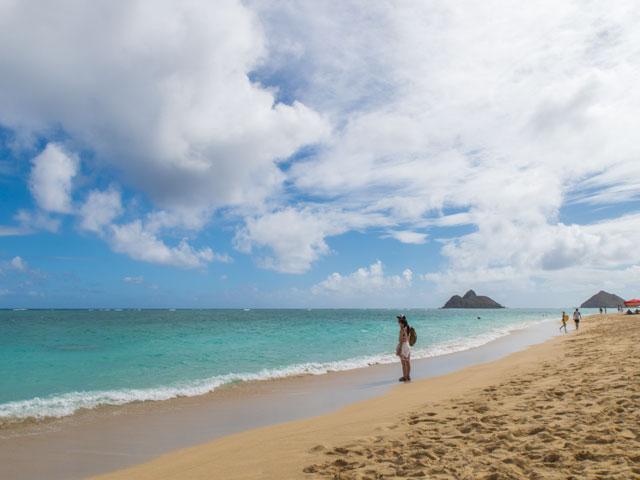 2歳児とした6泊8日のハワイ旅行記(四日目)ーラニカイビーチ、カイルアの妖精、クアロア牧場