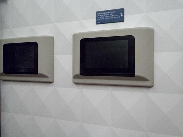 デルタの機内でディスプレイを消すときの注意点