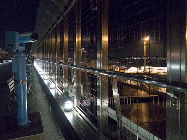 成田の第一ターミナルで飛行機の写真を撮りやすい場所