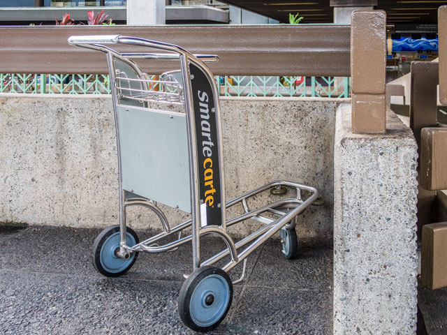 ホノルル空港でカートを使う時に役立つノウハウ