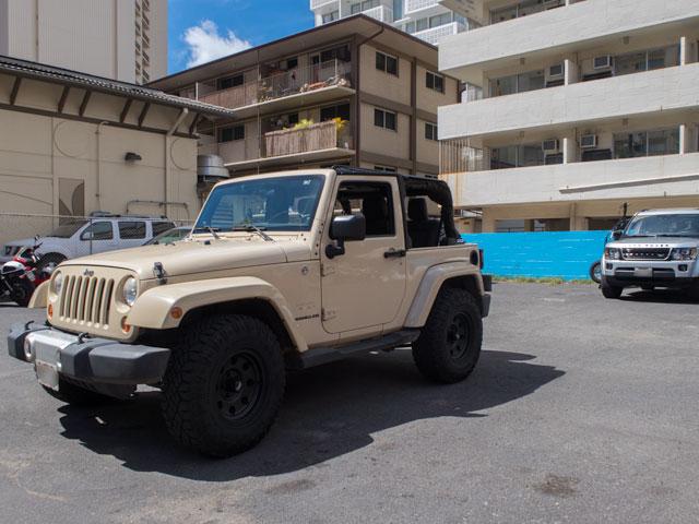ハワイのレンタカーで受取直前に車種をダウングレードした場合の料金
