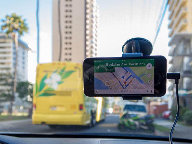 ハワイでGoogleマップをカーナビとして使う前にすべき準備
