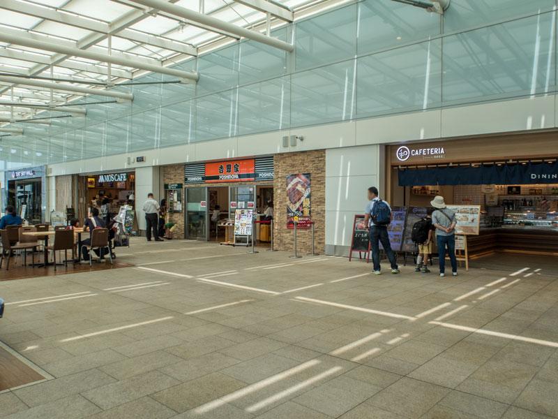 羽田空港国際線ターミナルの飲食店