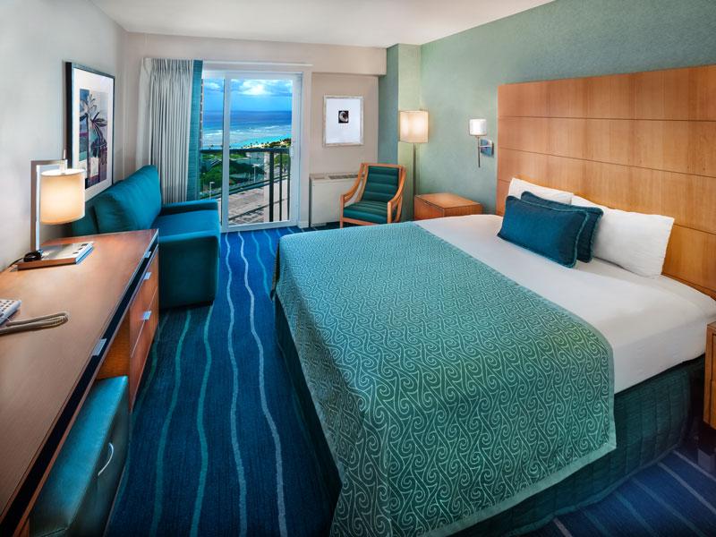 アラモアナホテルの室内