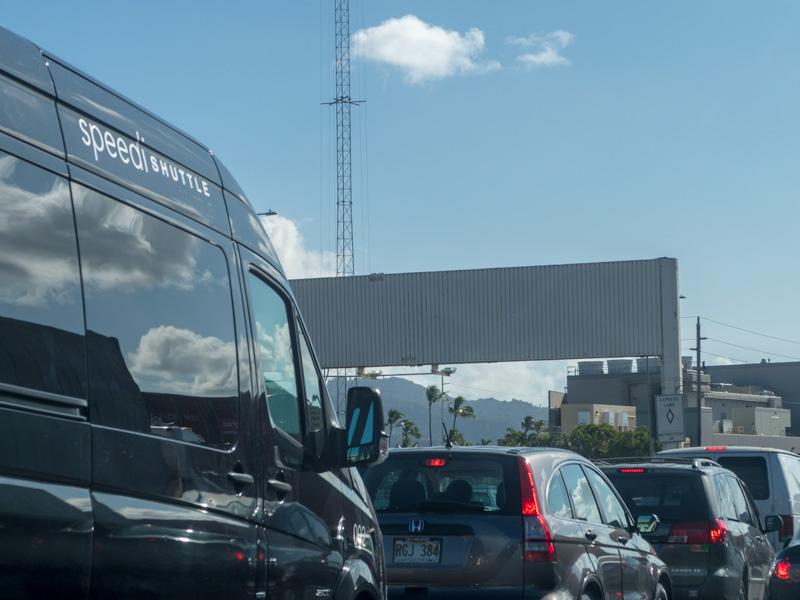 ハワイ在住者がH-1渋滞時に使った空港からワイキキまでのルート