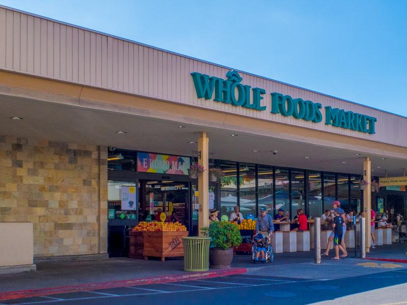 カハラモールのWhole Foodsの外観