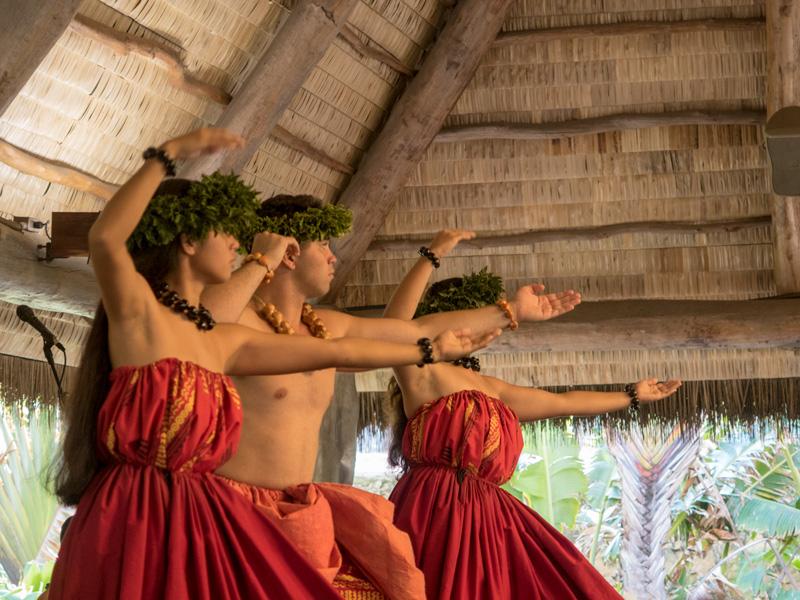 ポリネシア・カルチャー・センターのハワイ村のショーの魅力