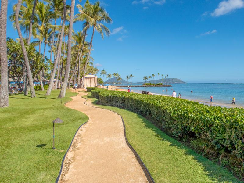 宿泊客ではなくてもカハラビーチを訪れることはできるか?