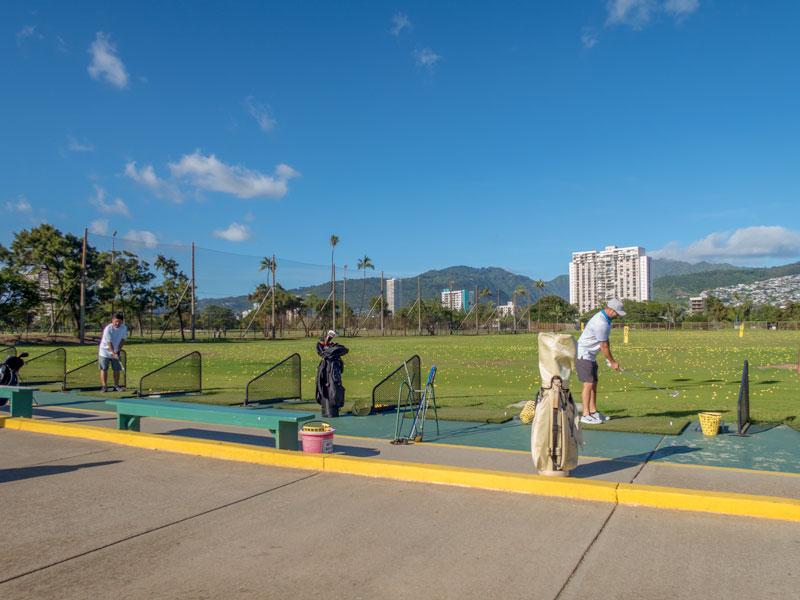 アラワイ・ゴルフコースの練習場を初利用した体験談