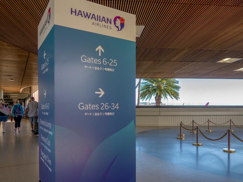 帰りのホノルル空港で「結構歩くことになるんだな」と感じた体験談