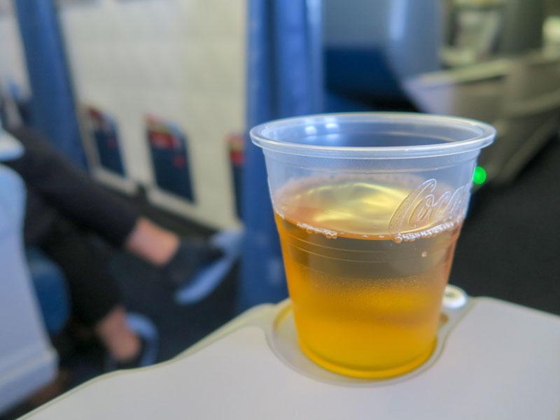 デルタ航空のコンフォートプラスの先頭座席のメリット