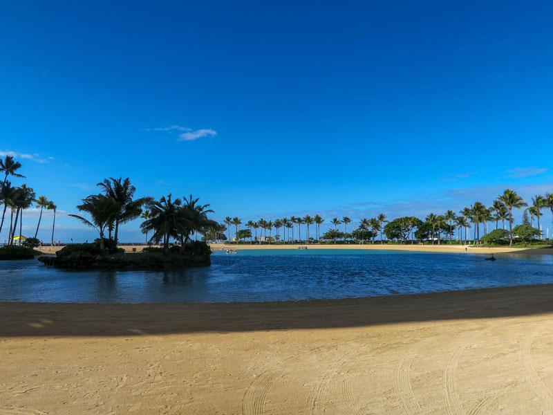 4歳児とヒルトン・ハワイアン・ビレッジのプールとビーチを利用した感想