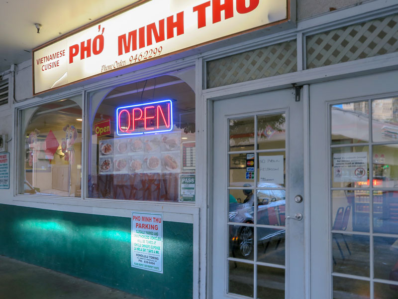 グランド・ワイキキアン宿泊初日の夕食に持ち帰り料理を買ってよかったベトナム料理店
