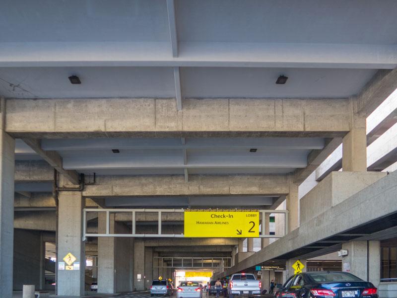 ユナイテッド利用の帰りのホノルル空港で荷物の重量オーバーで焦った話