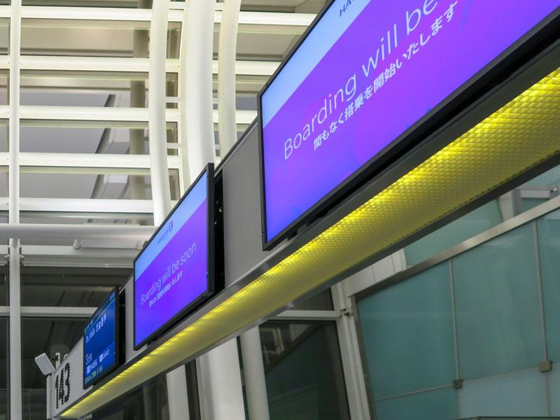 ハワイアン航空での5歳児のハワイ島コナ空港までの航空券代の例