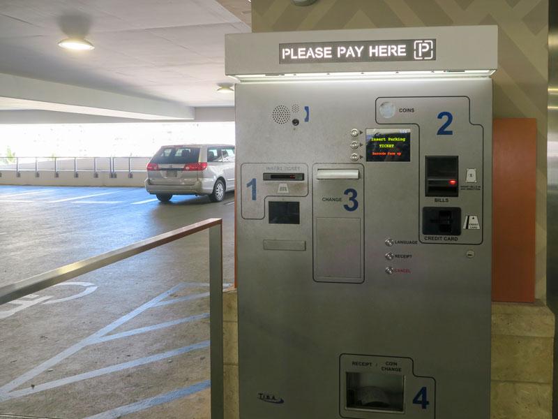 インターナショナルマーケットプレイスの駐車料金の支払いで困った話