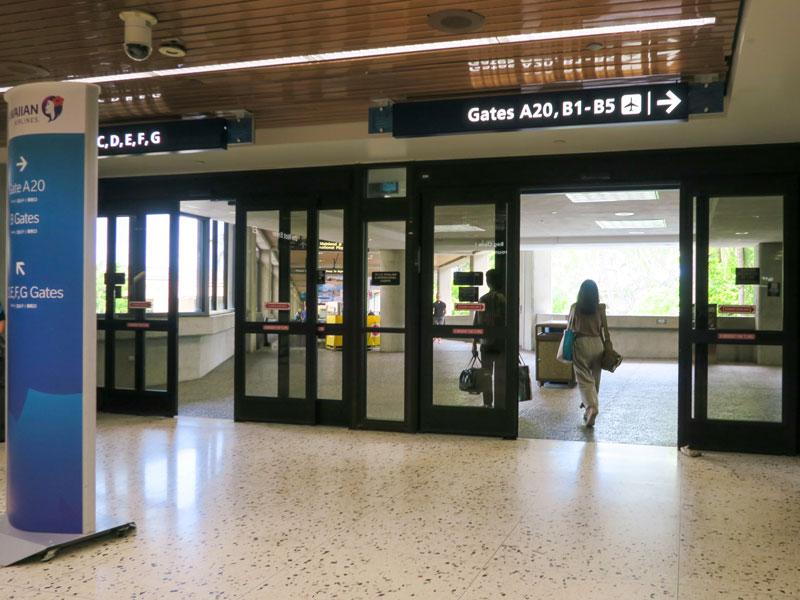 赤ちゃん連れのホノルル空港での乗換えに抱っこ紐が役立った体験談