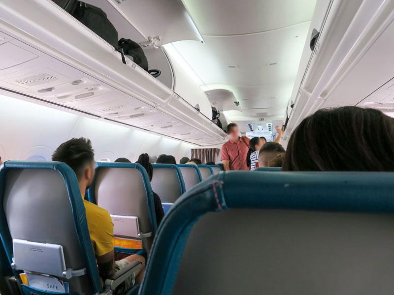 5歳児・1歳児とホノルルからコナ空港までハワイアン航空で選んだ座席の感想