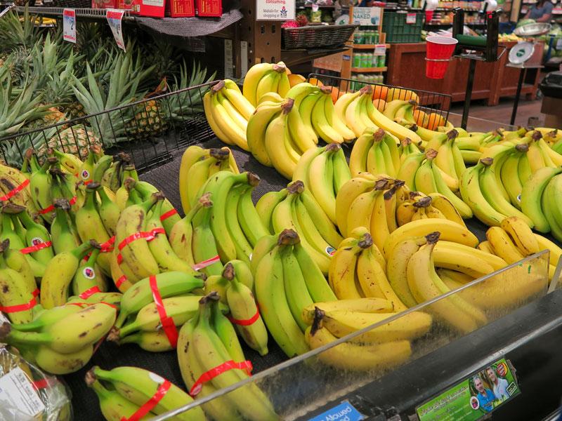 ハワイ島のKTAスーパーで買った食材の価格の例