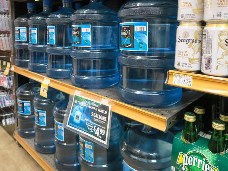 夏のハワイ、「どうせなら大きなサイズの水を買えば良かった」と後悔した話