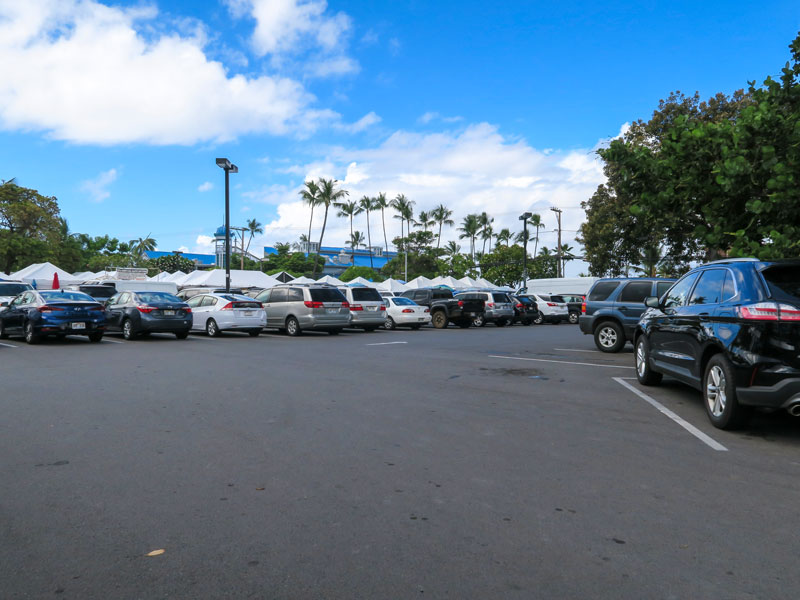 カイルアコナ観光での駐車場利用についてもらったアドバイスとその実際