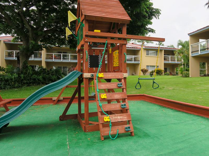 5歳児・1歳児とコナ・コースト・リゾート内の遊具で遊んだ感想
