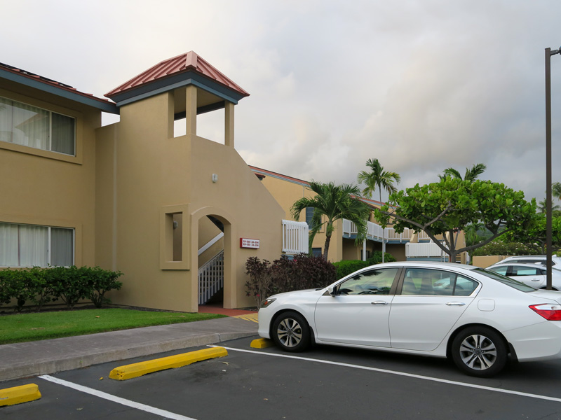 コナ・コースト・リゾート2ベッドルームの建物でベビーカーを置ける場所