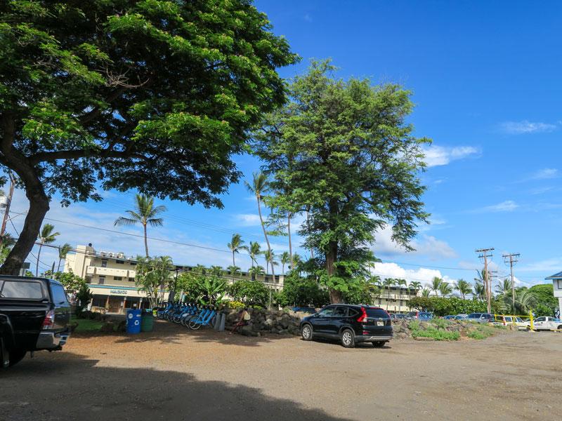ハワイ島カイルアコナ、マジック・サンズ・ビーチの駐車場を利用した体験談