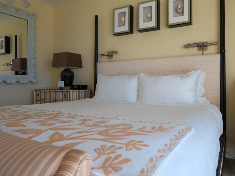 カハラホテル、1回目のメイドサービスがあった時間の例