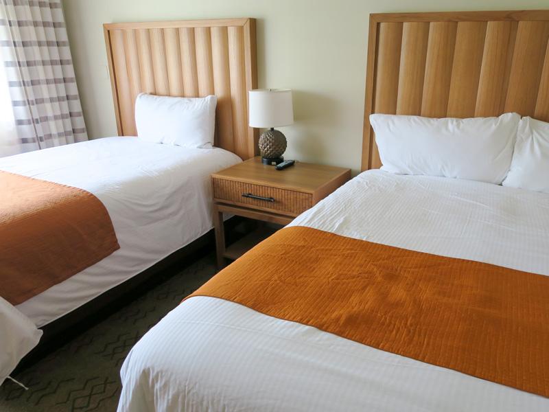 コナ・コースト・リゾート、2ベッドルームのクリーニング日に置いたチップ代の例