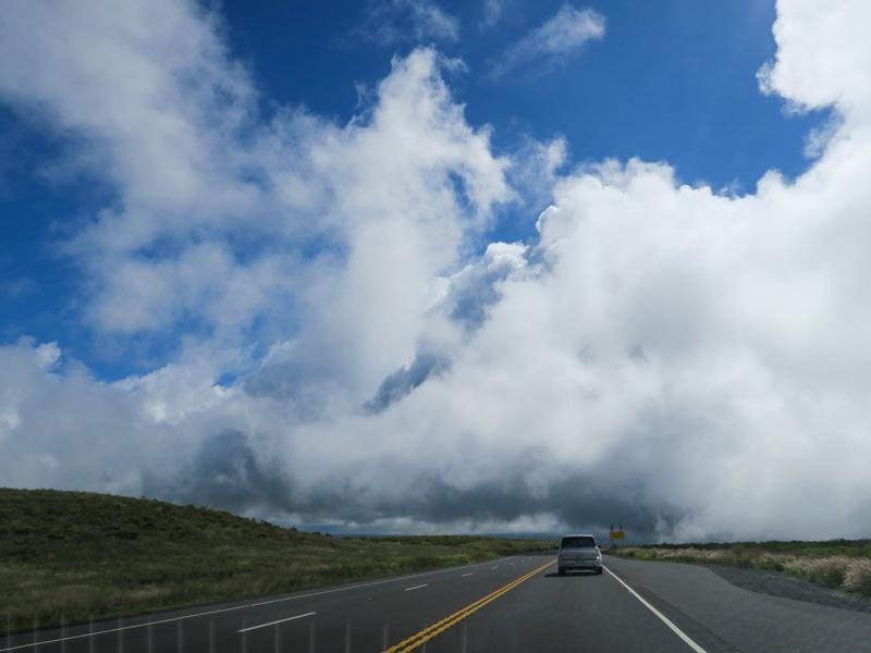 ハワイ島ヒロへのドライブ中、パトカーの取締りを目撃した体験談