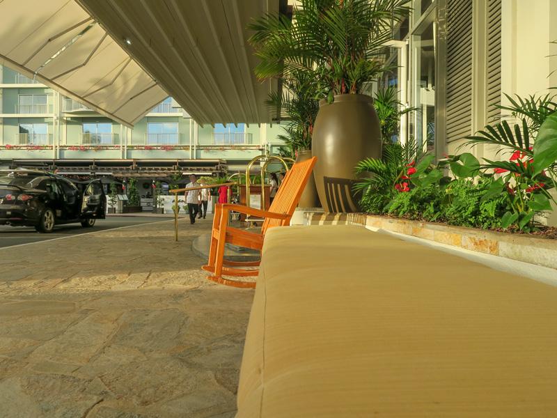 カハラホテルのHertzにレンタカーを返却したときの流れ