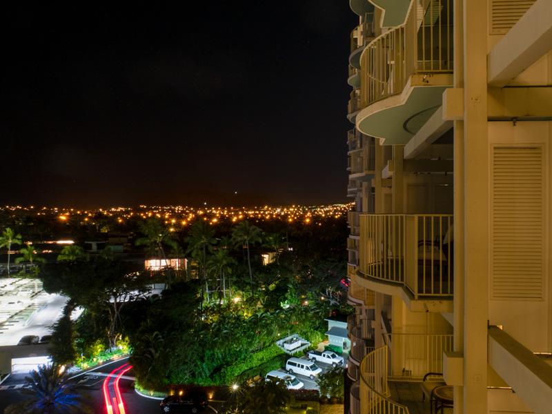 カハラホテル、二日目の夜にメイドサービスがあった時間の例