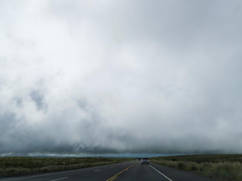 ハワイ島、ヒロからカイルアコナへの帰りの運転でちょっと怖さを感じた体験談