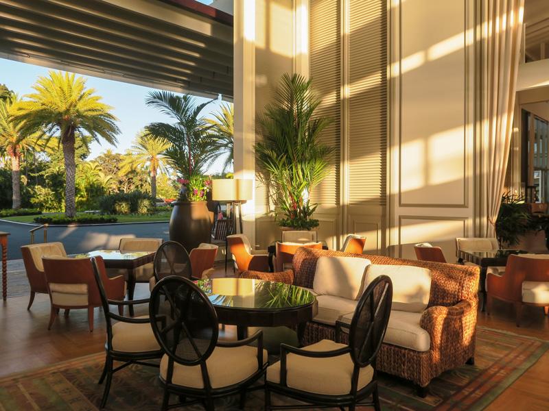 カハラホテルのチェックアウト日、部屋からの荷物運びサービスを利用した体験談