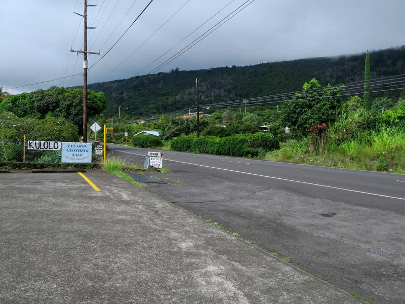 ハワイ島でGoogleマップに遠回りのルートを案内された例