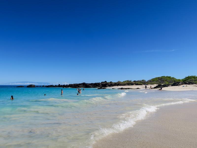 小さい子連れでハワイ島のビーチ、クアベイ(マニニオワリ・ビーチ)を訪れた感想