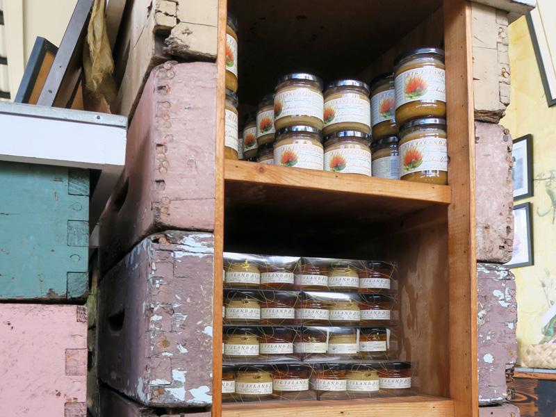 ハワイ島キャプテンクックの養蜂場、ビッグ・アイランド・ビーズのショップでのハチミツの価格の例