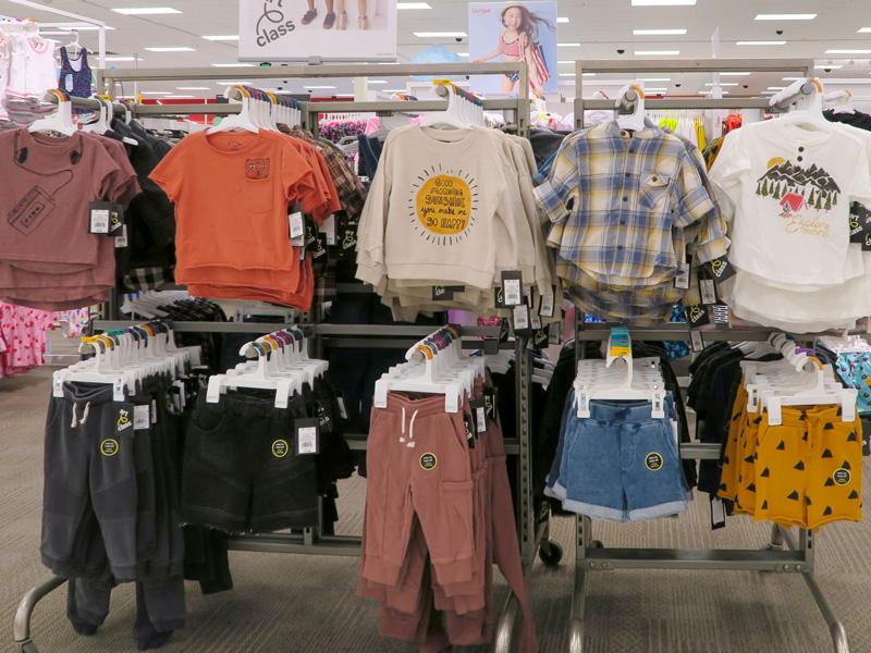 ハワイ島カイルアコナのTargetで買った「Cat & Jack」の子供用Tシャツの価格例